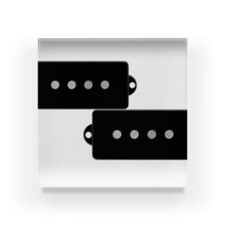 プレベピックアップ Acrylic Block