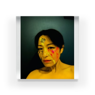 「Rain On Me」Naomi Okiバージョン Acrylic Block
