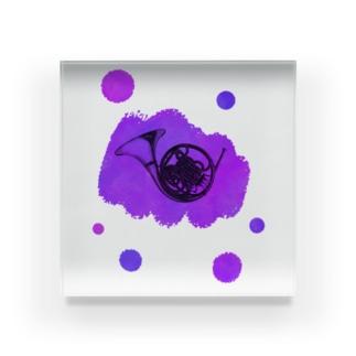 ホルンの音色 Acrylic Block