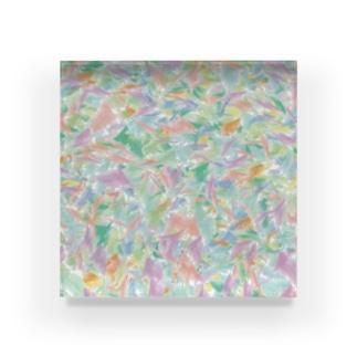 カラフル Acrylic Block