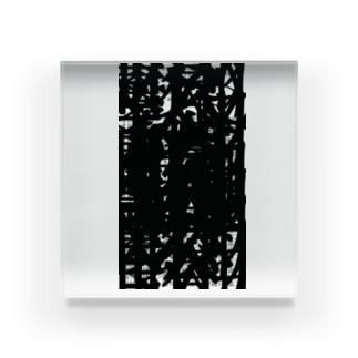 蜒輔?豌玲戟縺。繧呈嶌縺阪∪縺励◆ Acrylic Block