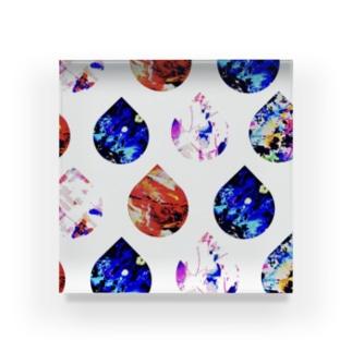 fika(ん)drip Acrylic Block