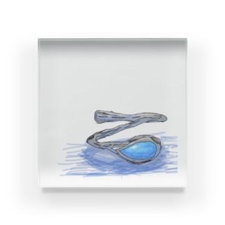 海辺の指輪 Acrylic Block