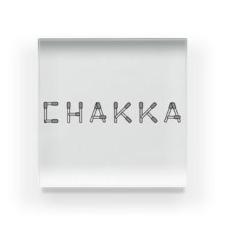 CHAKKA Acrylic Block