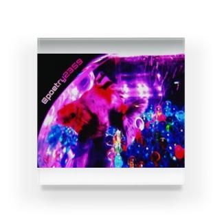 sparkle Acrylic Block