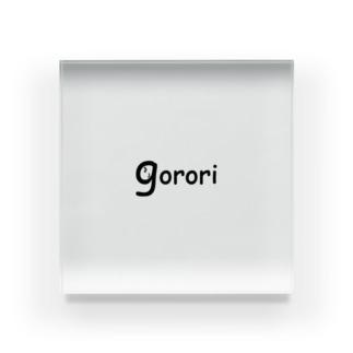 gorori Acrylic Block