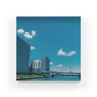 東京キリトリセカイ Acrylic Block