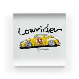 Lowrider  Acrylic Block