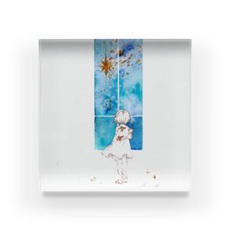 彗星の窓 Acrylic Block