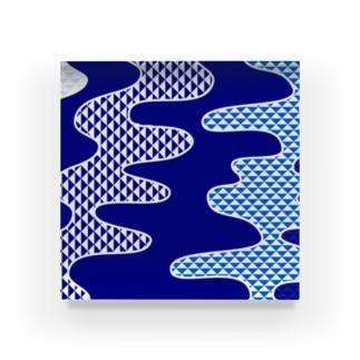 水流 Acrylic Block