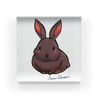 不思議野ウサギ Acrylic Block