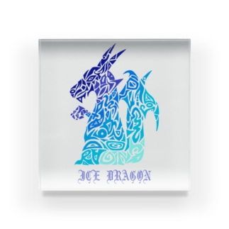 ドラゴン/アイス Acrylic Block