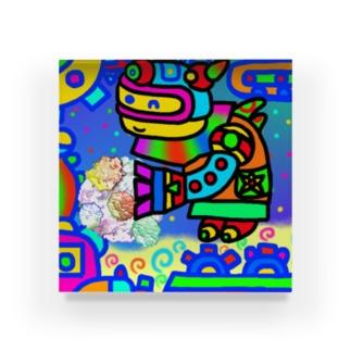 星の守護神・ピーカロン Acrylic Block
