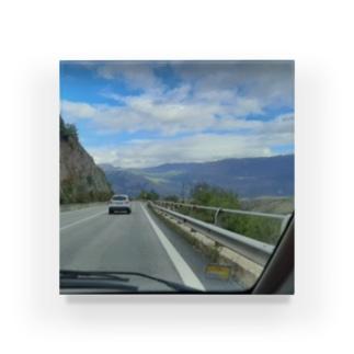 アブルッツォの道路 Acrylic Block