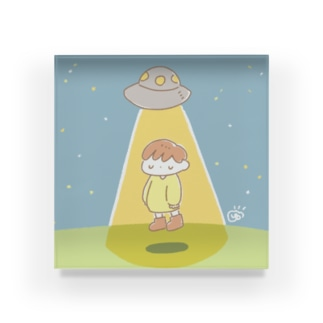 UFO Acrylic Block