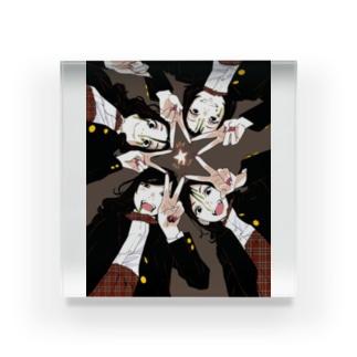 オトメの帝国ハロウィンスペシャル/ディベート部 Acrylic Block