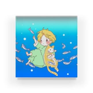 魚群 Acrylic Block