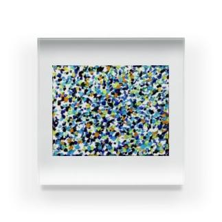 うみ Acrylic Block