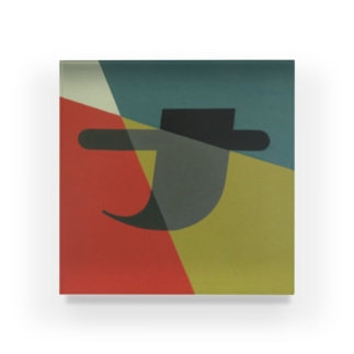 Kaleidoscope 万華鏡 Katakana series #5 Acrylic Block