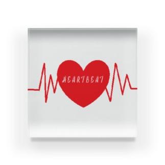 HEARTBEAT -鼓動- Acrylic Block
