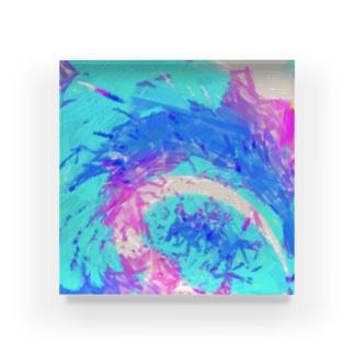 宇宙のさざ波⭐️ Acrylic Block