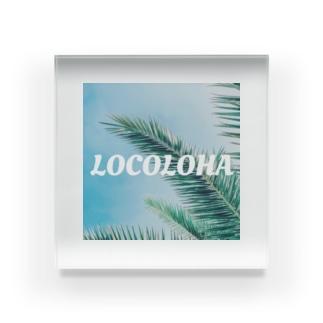 LOCOLOHA Acrylic Block