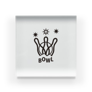sportBOWL Acrylic Block