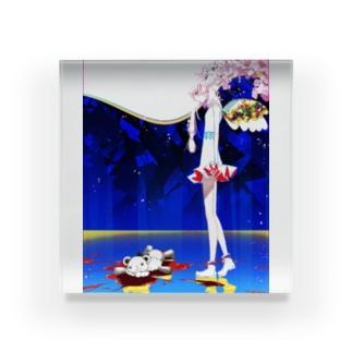 メンヘラちゃん Acrylic Block