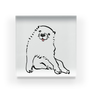 長沢芦雪の「あの犬」 Acrylic Block