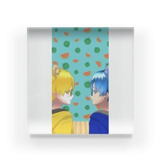 はんぐりーあんぐりー(REALITY)3 Acrylic Block