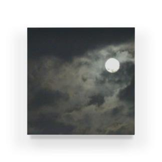 雲間の月 Acrylic Block