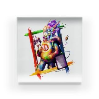 ゲーミング羊 Acrylic Block