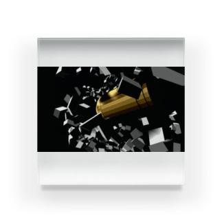 弾丸 Acrylic Block