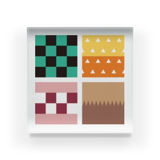 カラフルキューブ Acrylic Block