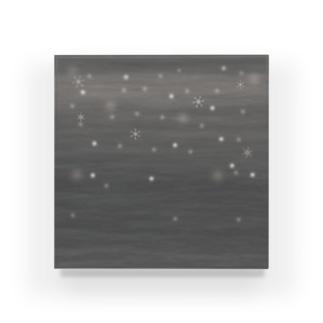 スノーフレーク Acrylic Block