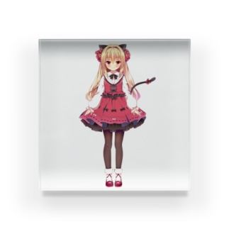 【OPEN BETA公式】華香院つばきグッズ Acrylic Block