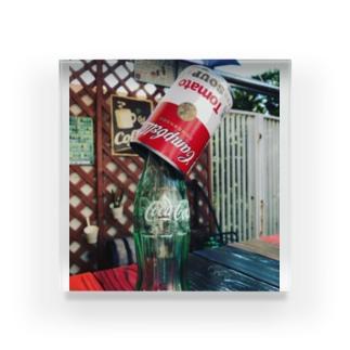 Campbell Coke Acrylic Block