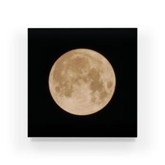 存在感のある満月 Acrylic Block