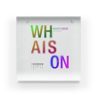 whaison gradations CMYK-RGB アクリルブロック