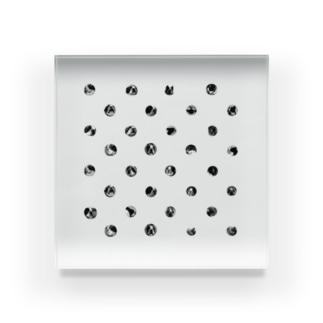 ボス玉模様 Acrylic Block