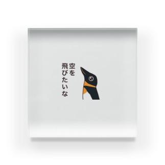 ペンギンのペンたん Acrylic Block