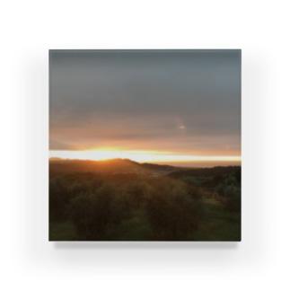 夜明け1 Acrylic Block