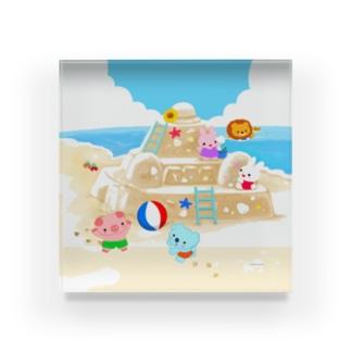 砂浜にあつまれ~ Acrylic Block