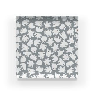 シロクンマ Acrylic Block