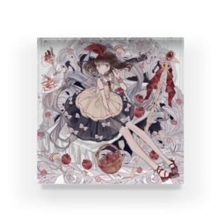 白雪姫フルガ Acrylic Block