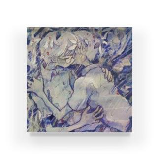 るなの五月雨 Acrylic Block