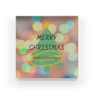 【限定1個】メリークリスマス! Acrylic Block