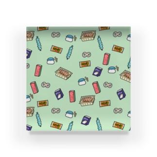 駄菓子の夢 dot. ミントカラー Acrylic Block