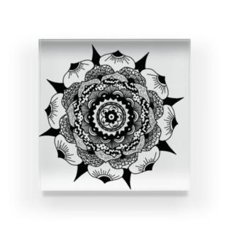 唯一無二② Acrylic Block