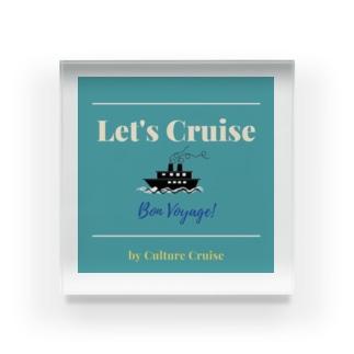 Let's Cruise Acrylic Block